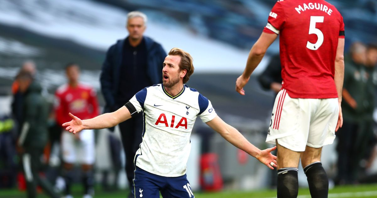 Harry Kane Spurs Man Utd
