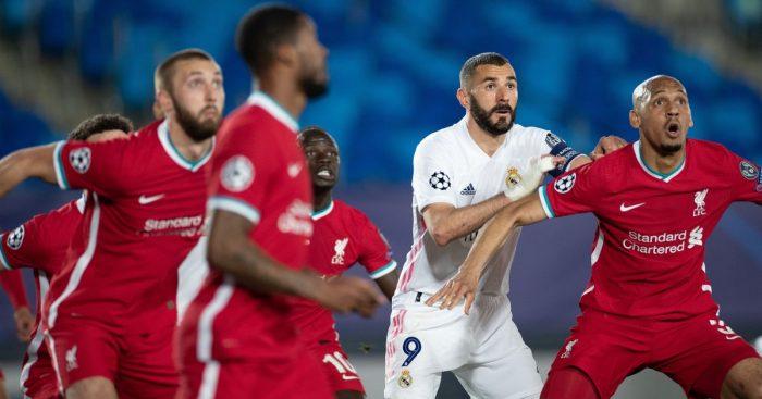 Fabinho Karim Benzema Liverpool Real Madrid