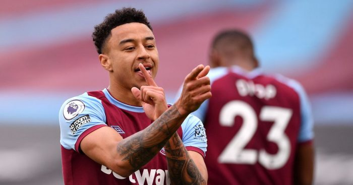 Jesse Lingard West Ham Arsenal