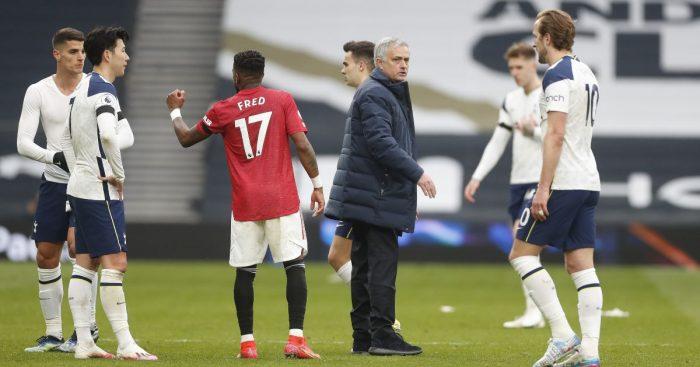 Spurs Manchester United Jose Mourinho