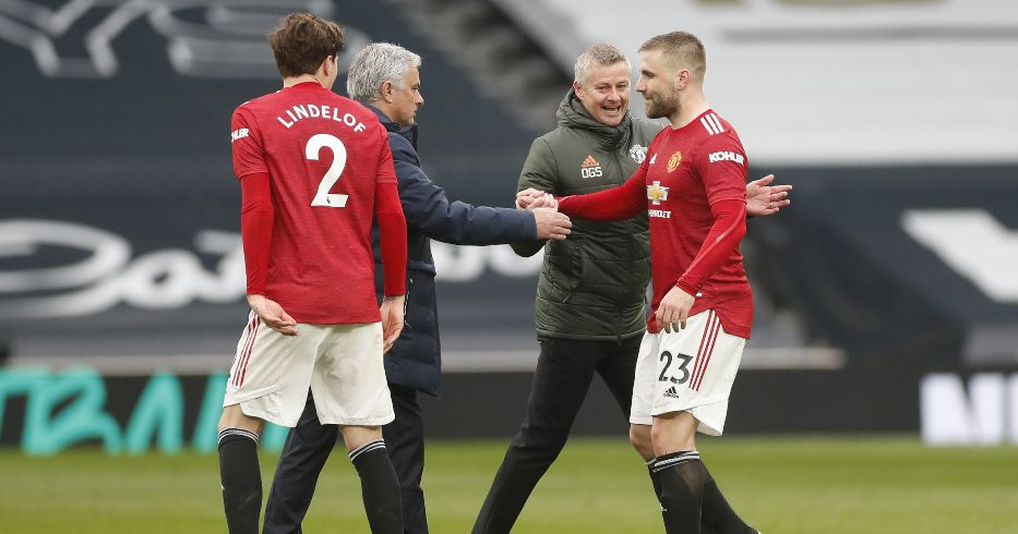 Ole Gunnar Solskjaer Man Utd Jose Mourinho Luke Shaw Spurs