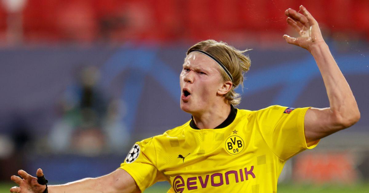 Erling Haaland Dortmund Liverpool