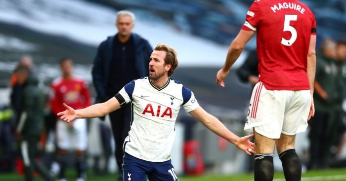 Harry Kane Spurs Man Utd