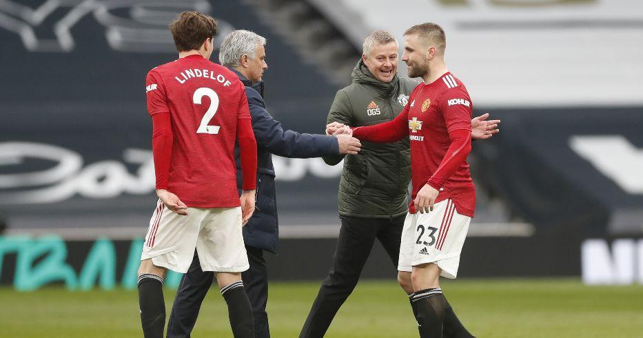 Jose Mourinho Spurs Ole Gunnar Solskjaer Man Utd