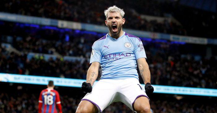 Sergio Aguero Man City Arsenal