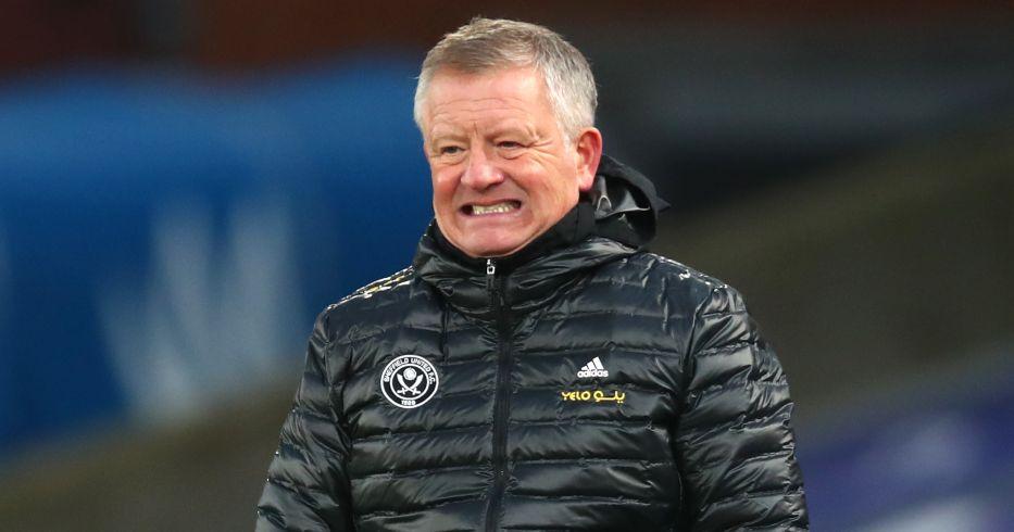 Chris Wilder Sheffield United