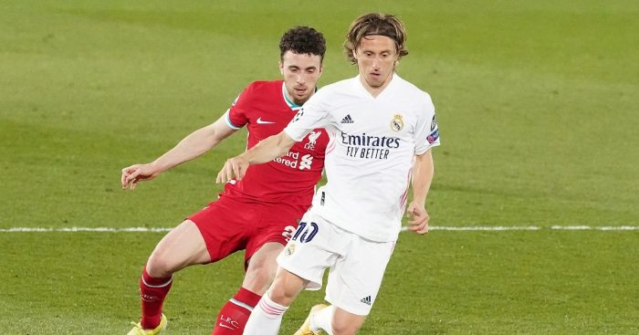 Luka Modric Real Madrid F365