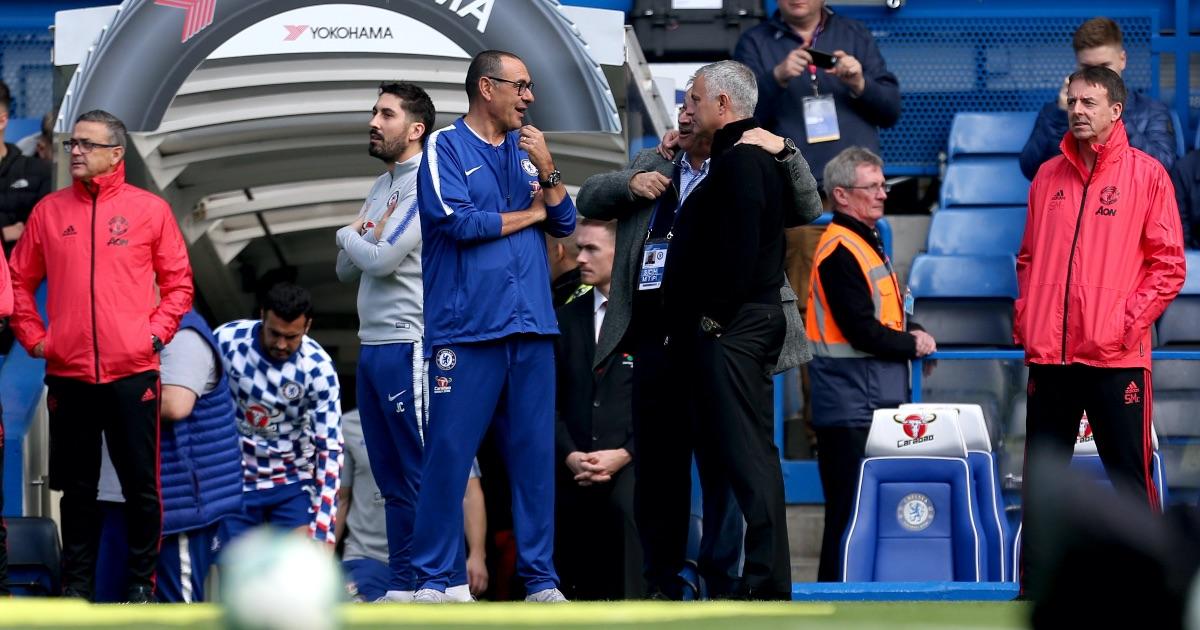 Sarri Mourinho Chelsea