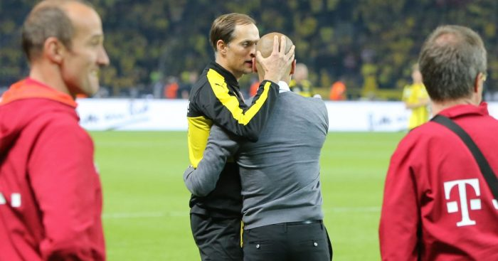 Thomas Tuchel Pep Guardiola