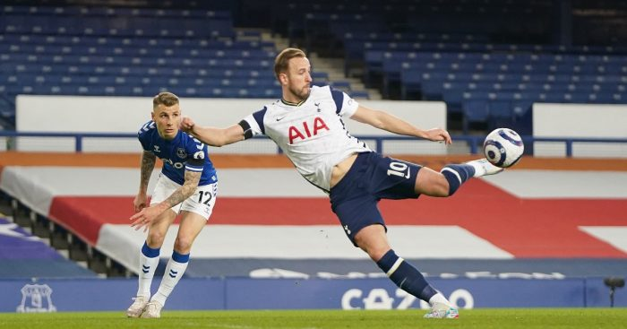 Everton Tottenham Harry Kane F365