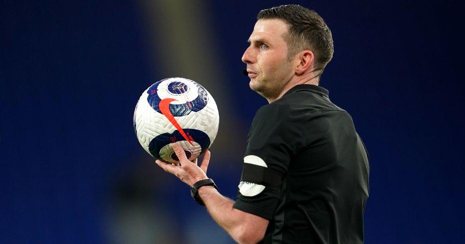 Michael Oliver Premier League referee