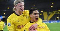 Jude Bellingham Erling Haaland Borussia Dortmund Man Utd