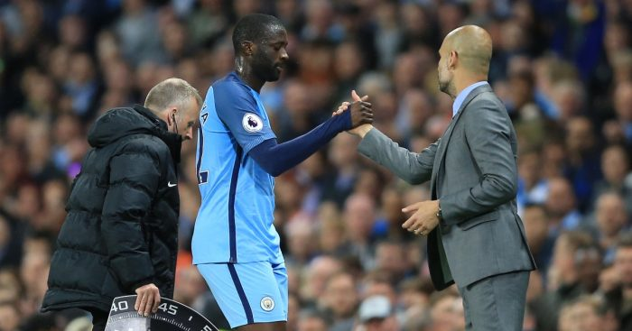 Yaya Toure Pep Guardiola Man City F365