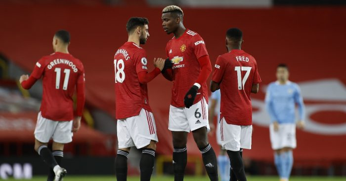 Bruno Fernandes Paul Pogba Man United F365