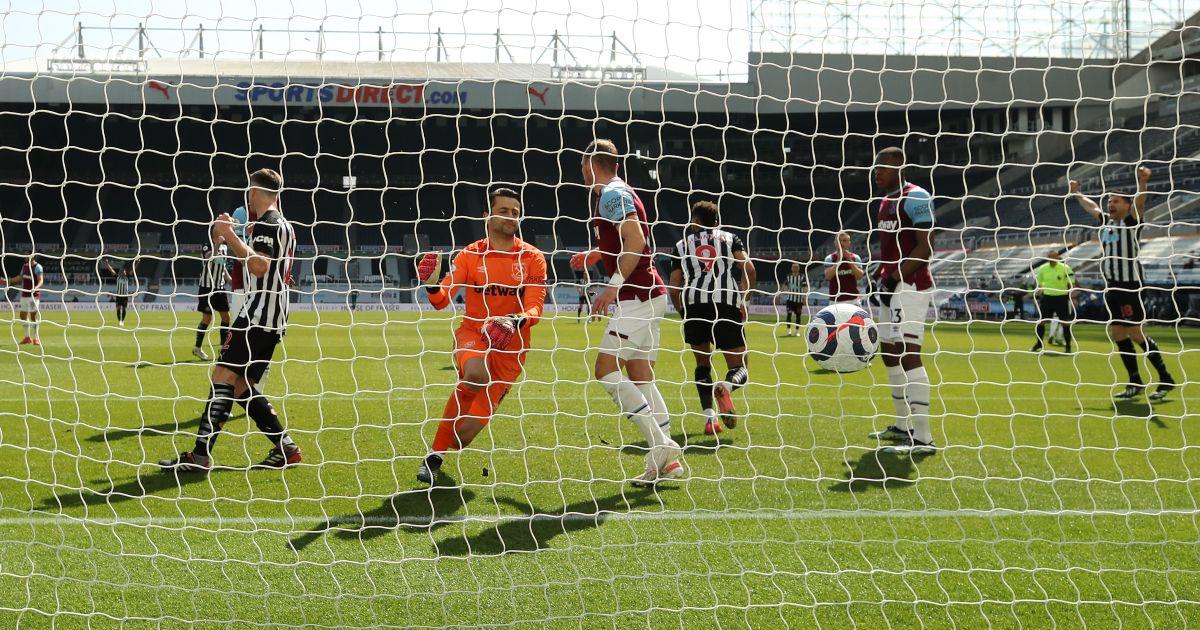 Lukasz Fabianski West Ham Newcastle