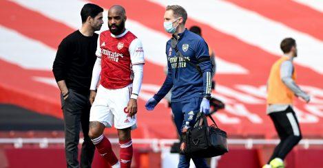 Lacazette injured Arsenal