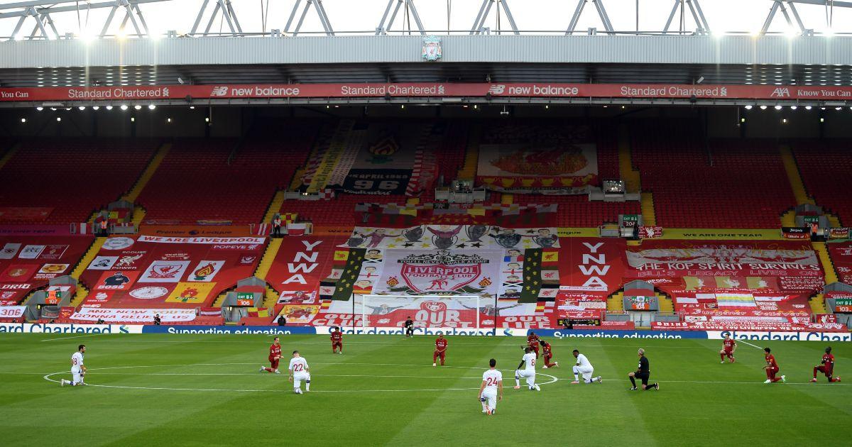 Liverpool Anfield kop