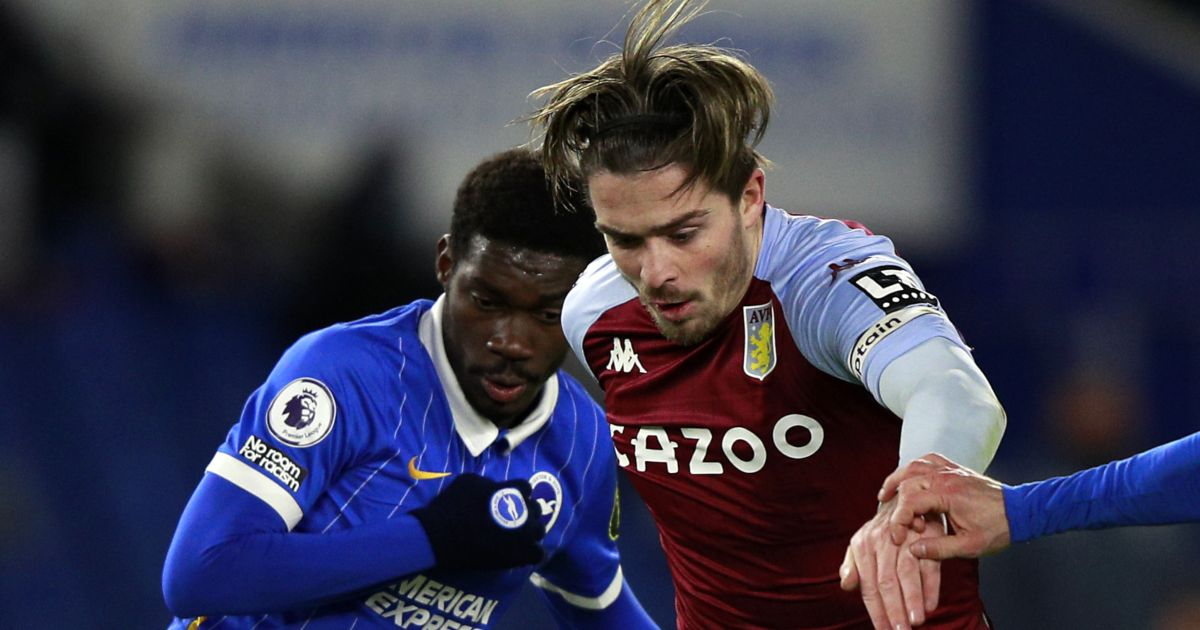 Yves Bissouma and Jack Grealish