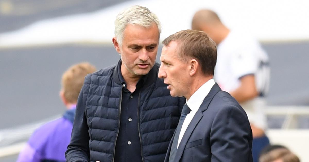 Jose Mourinho Brendan Rodgers Spurs F365