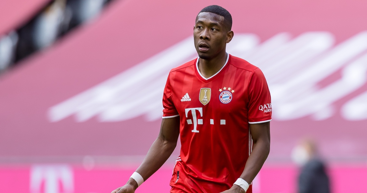 Man Utd target Alaba agrees five-year deal with Real Madrid