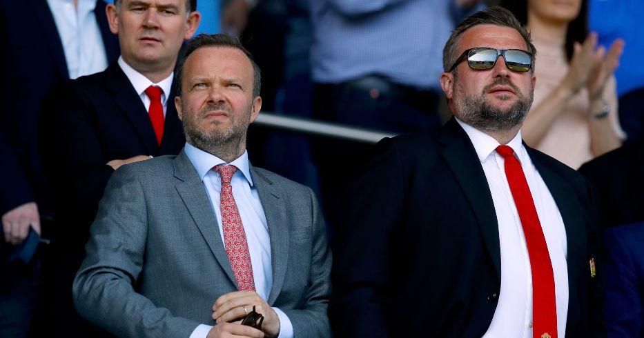Ed Woodward Richard Arnold Man Utd