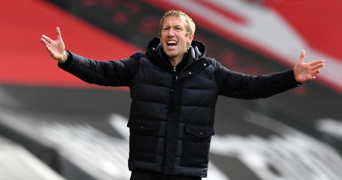 Brighton will have to be 'lucky' to beat Sheff Utd - Potter - Football365