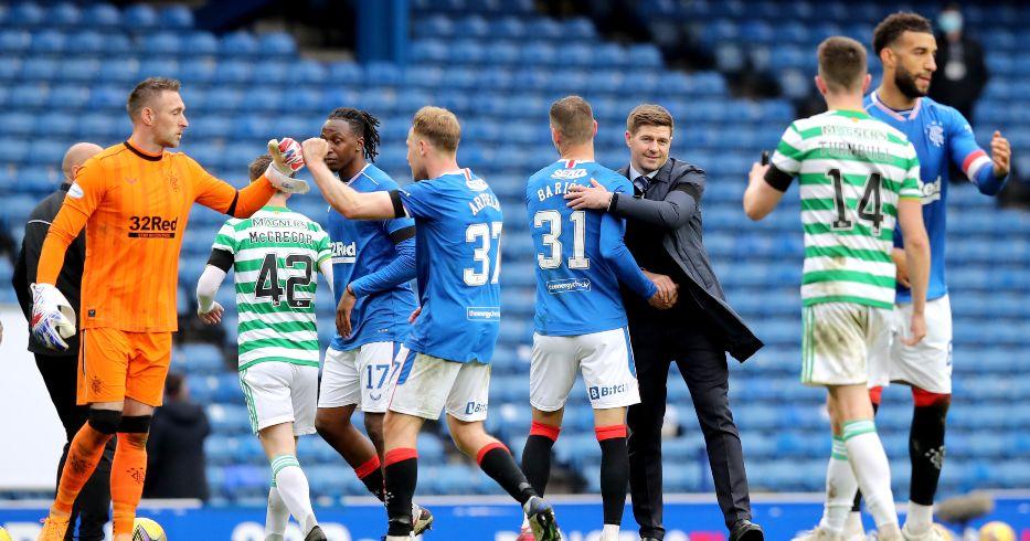 Steven Gerrard Rangers Celtic