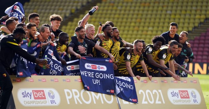 Watford promotion F365