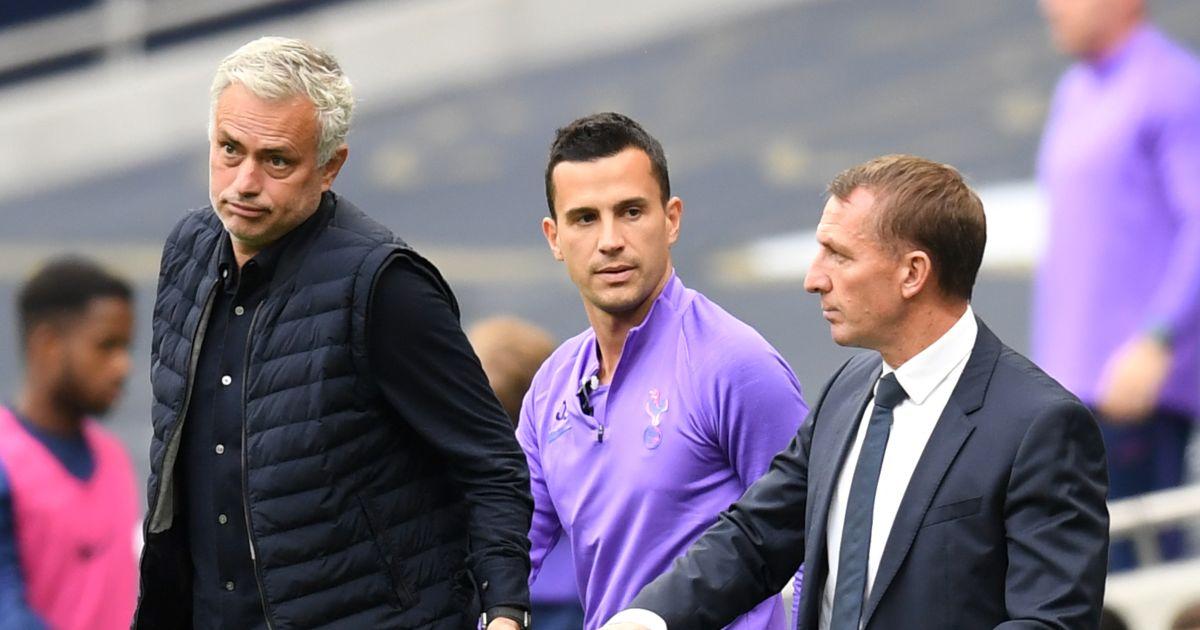 Jose Mourinho and Brendan Rodgers