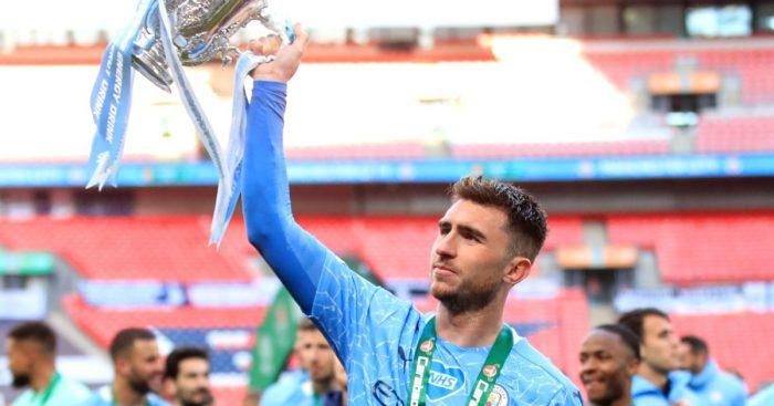 Aymeric Laporte Manchester City Tottenham Carabao Cup