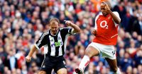 Alan Shearer Newcastle Thierry Henry Arsenal Premier League