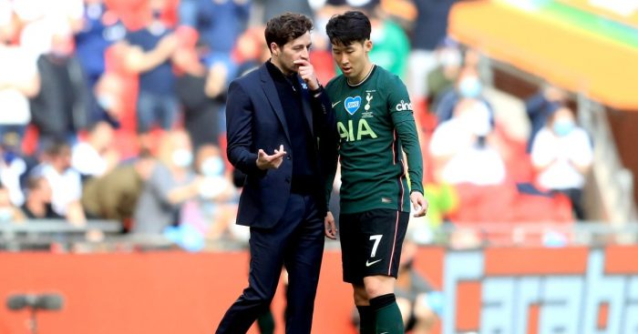 Ryan Mason Son Heung-min Tottenham