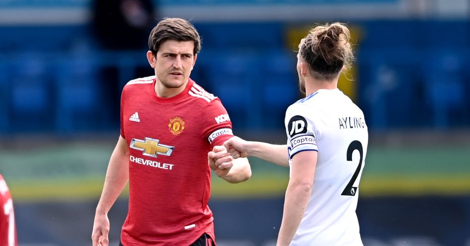 Harry Maguire and Luke Ayling