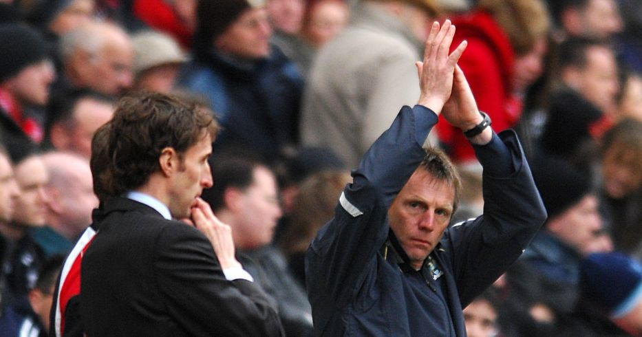 Gareth Southgate and Stuart Pearce
