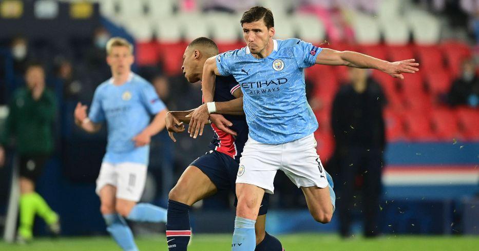 Ruben Dias Kylian Mbappe Manchester City PSG