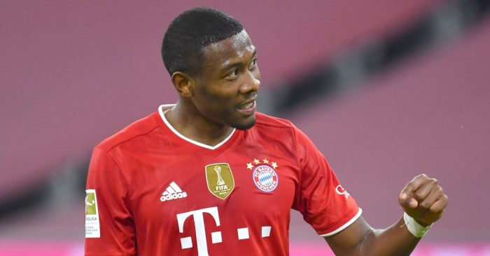 David Alaba Bayern Real F365