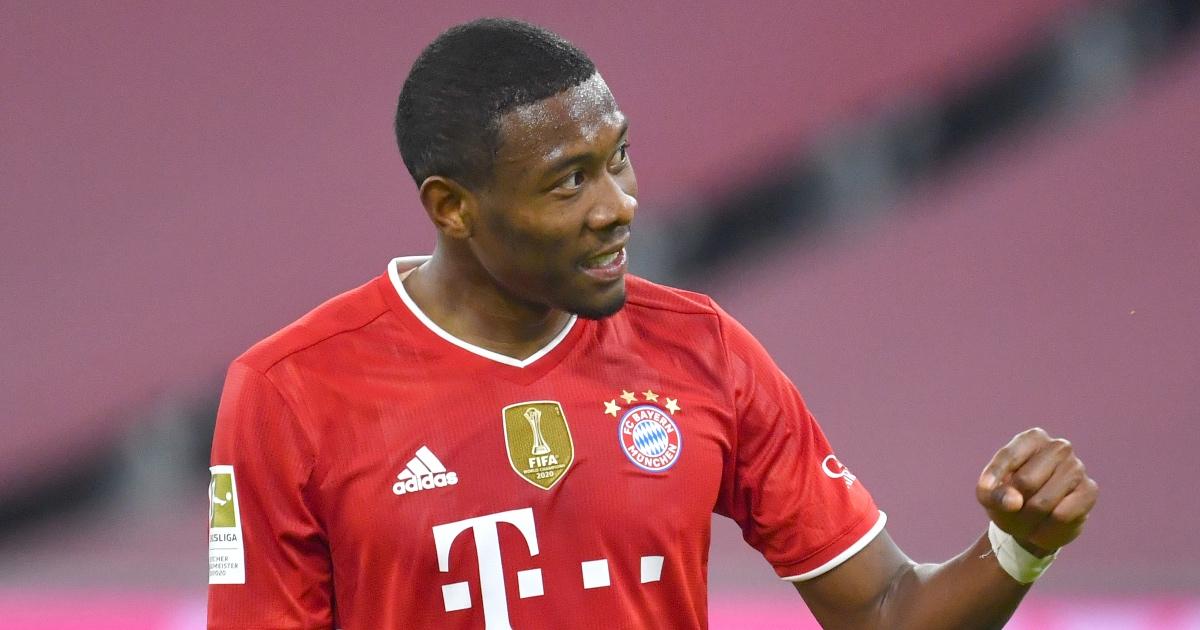 David Alaba Bayern Real F365
