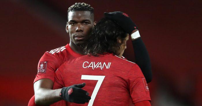 Cavani Pogba Man United