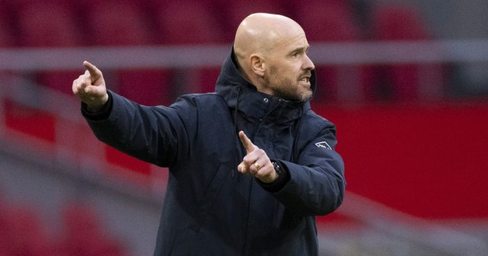 Ajax boss Erik ten Hag