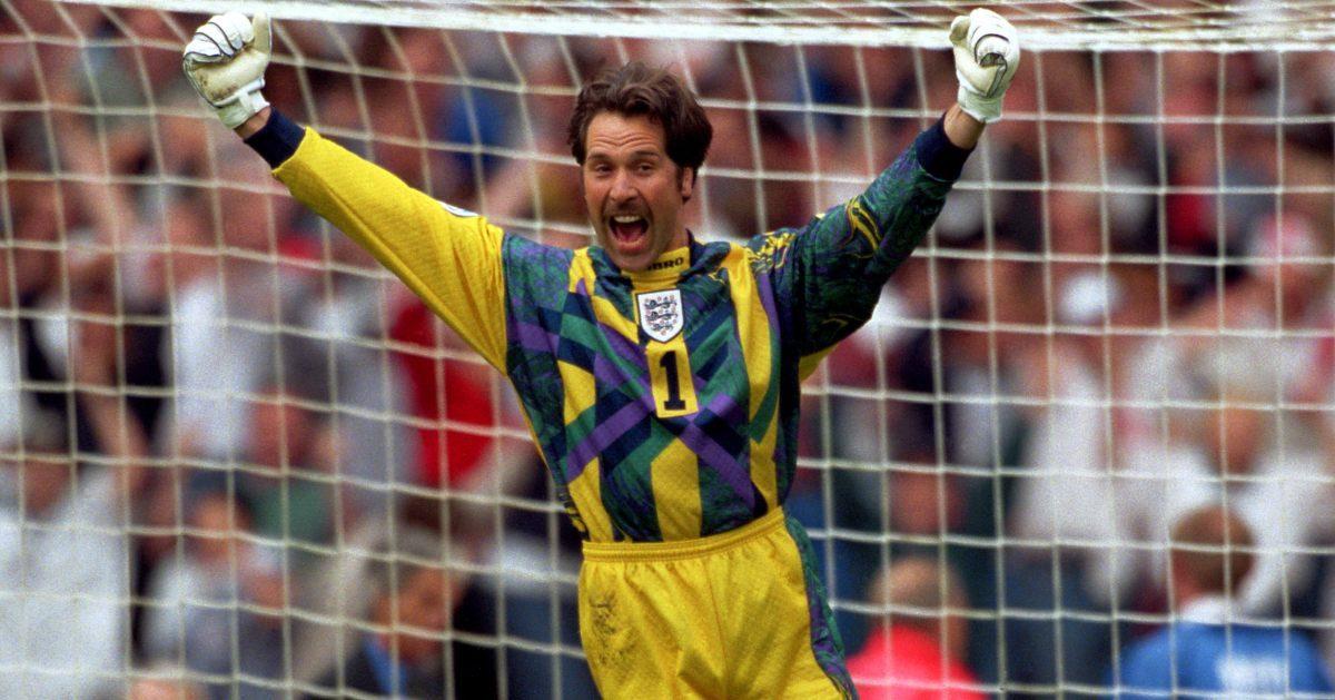 England goalkeeper David Seaman