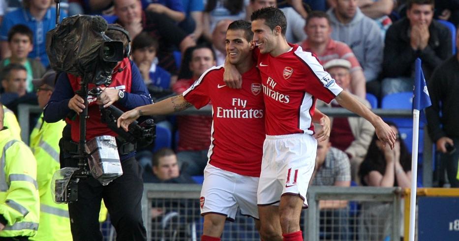 Fabrega Van Persie Arsenal