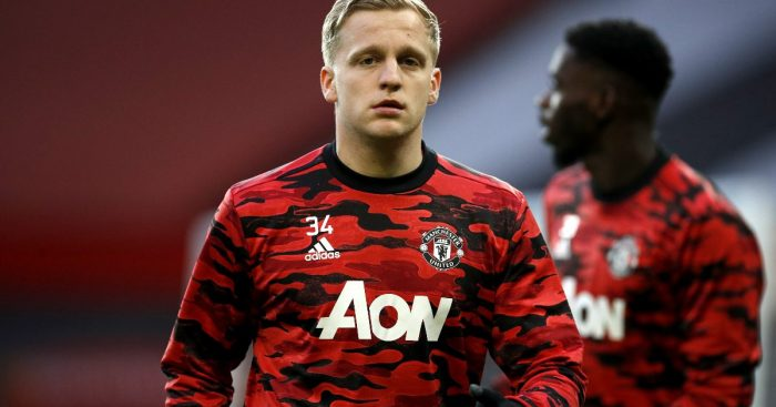 van de Beek Manchester United