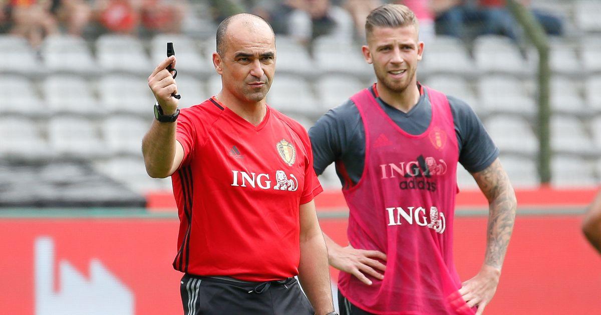 Roberto Martinez Toby Alderweireld Belgium DSpurs