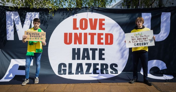 Glazer protests Man Utd F365