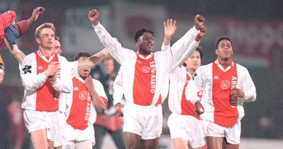 Frank de Boer, Clarence Seedorf and Patrick Kluivert