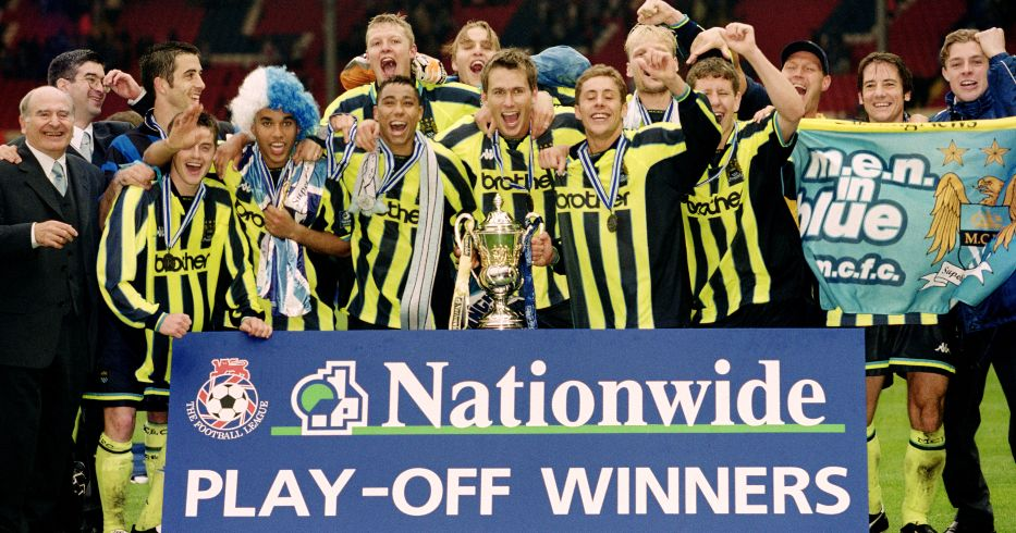 Manchester City Gillingham playoff winners