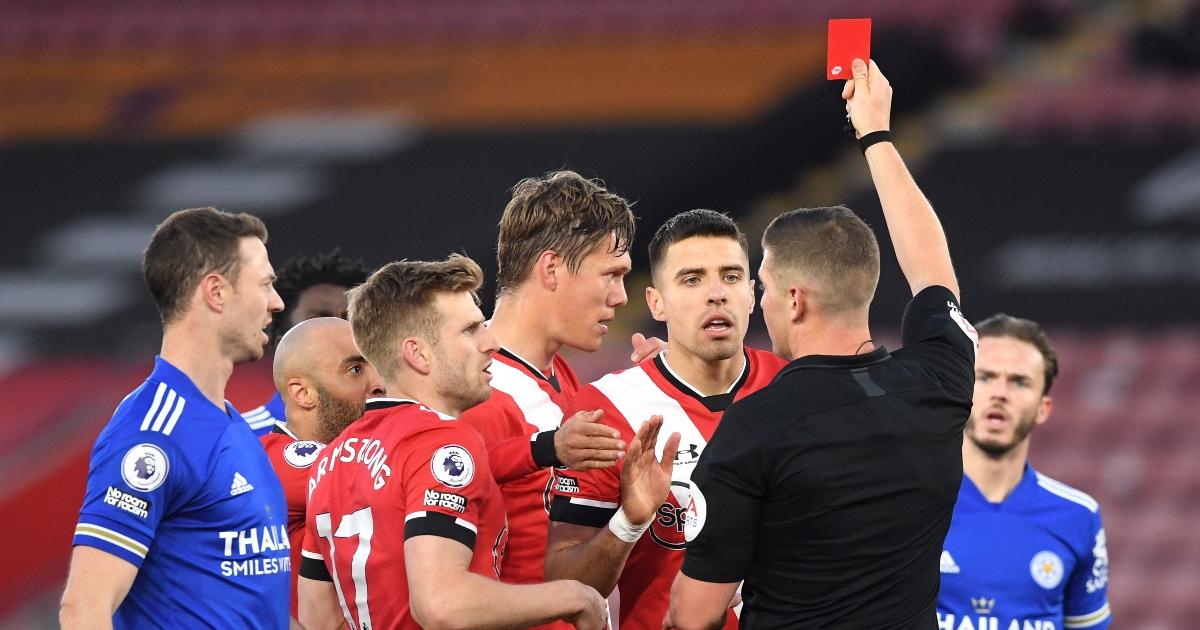 Saints defender Vestergaard wins appeal against Leicester red