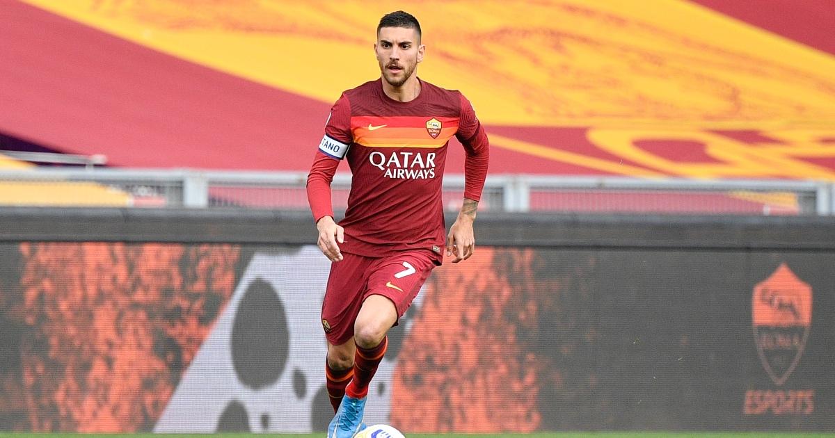 Lorenzo Pellegrini Roma Liverpool F365