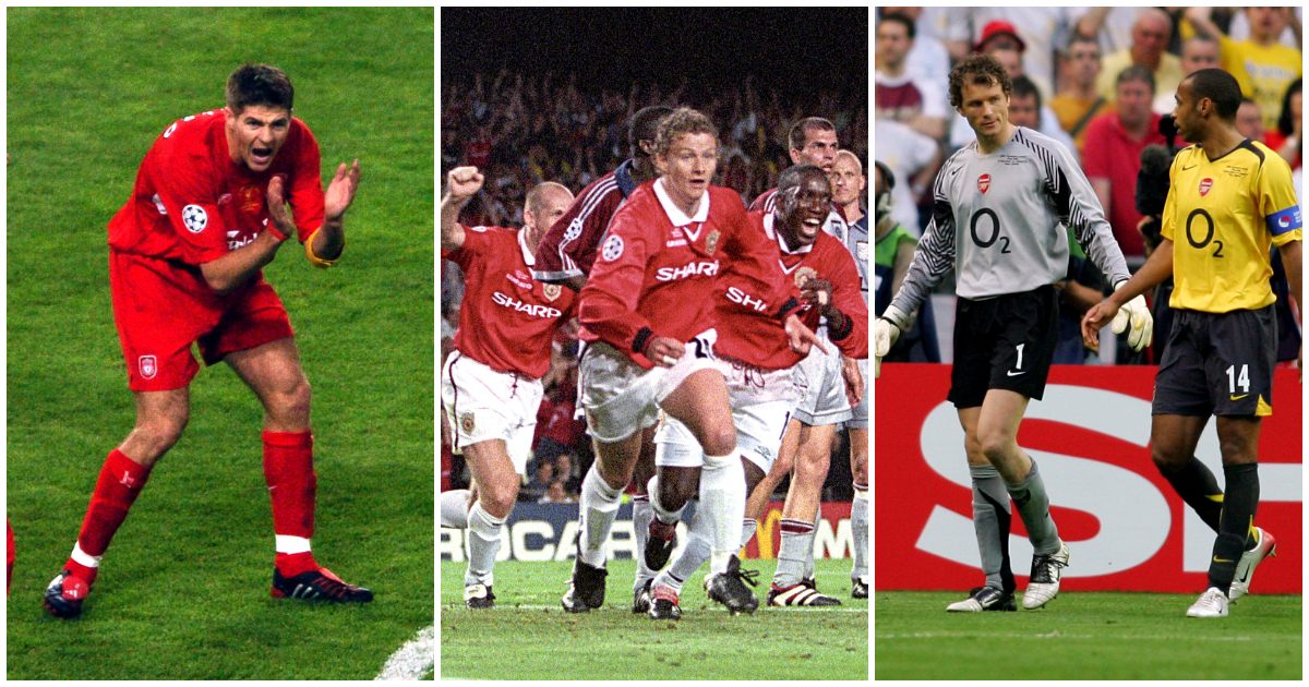 Ranking the dozen English Champions League final performances...