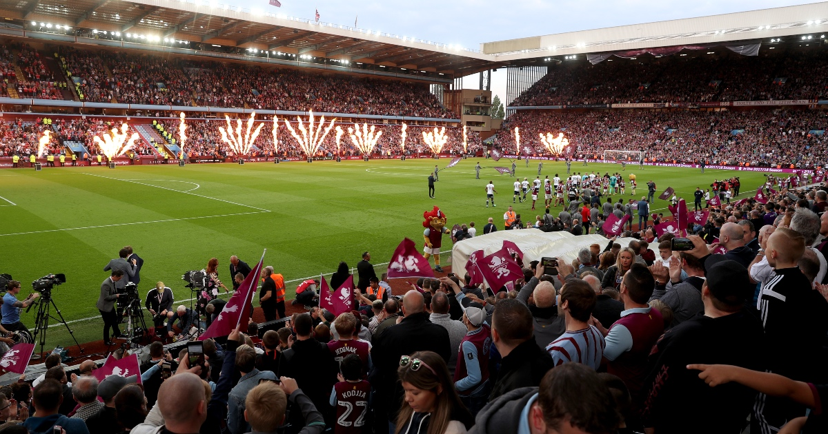 Aston Villa offer to host Champions League final at Villa Park